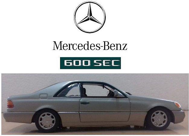 Minichamps - Mercedes-Benz 600 SEC - 1/43
