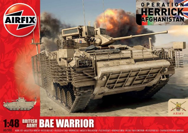 AIRFIX - BAE WARRIOR - 1/48