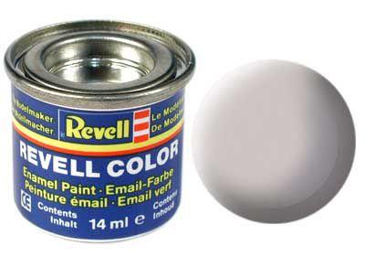 Tinta Revell para plastimodelismo - Esmalte sintético - Cinza médio USAF - 14ml