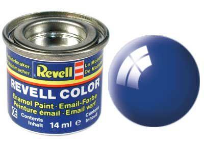 Tinta Revell para plastimodelismo - Esmalte sintético - Azul ultramarino - 14ml