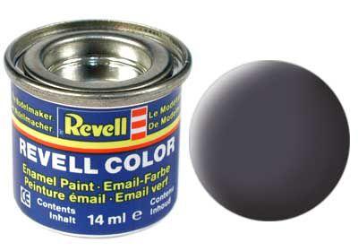 Tinta Revell para plastimodelismo - Esmalte sintético - Cinza canhão USAF - 14ml