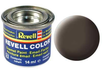Tinta Revell para plastimodelismo - Esmalte sintético - Marrom couro - 14ml