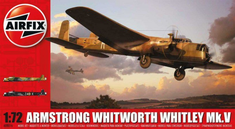 AIRFIX - ARMSTRONG WHITWORTH  WHITLEY MK.V - 1/72