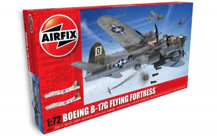 AIRFIX - B-17G FLYING FORTRESS - 1/72