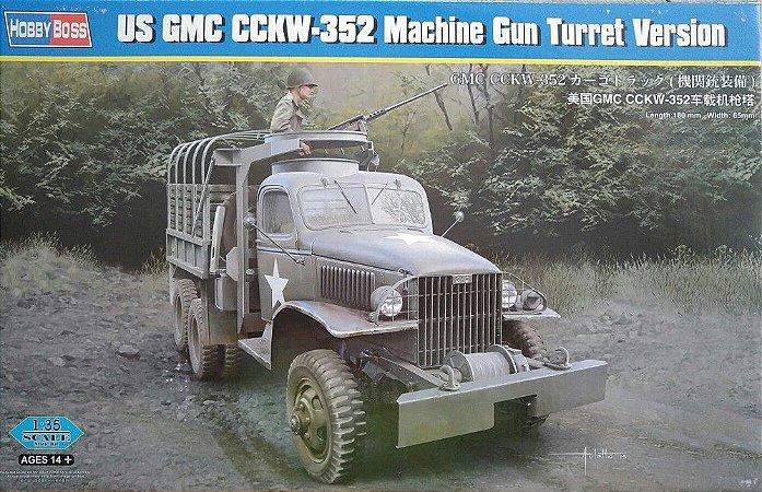 HOBBY BOSS - CCKW-352 Machine Gun Turret Version - 1/35 - NOVIDADE!