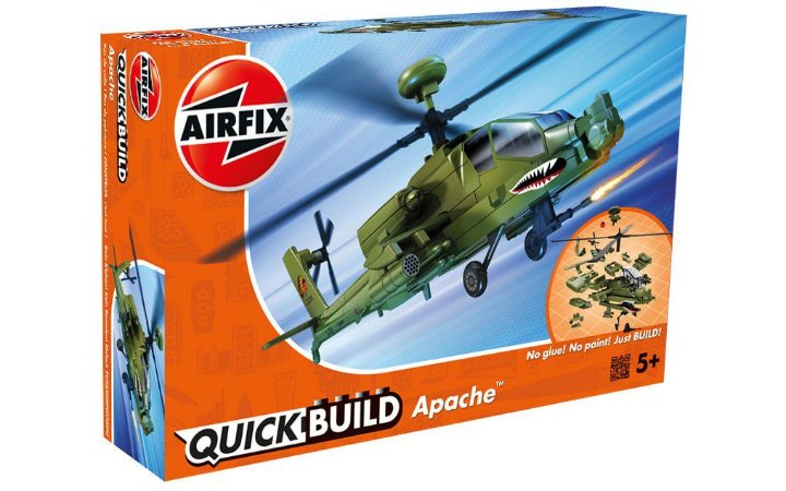 AIRFIX QUICK BUILD - APACHE