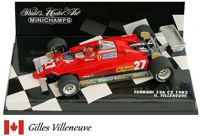 Minichamps - Ferrari 126C2 F1 1982 - 1/43