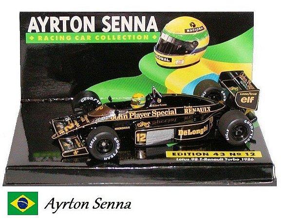 Minichamps - Lotus 98T Renault F1 1986 - 1/43