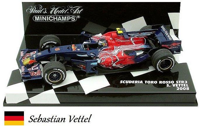 MInichamps - Scuderia Toro Rosso STR3 F1 2008 - 1/43