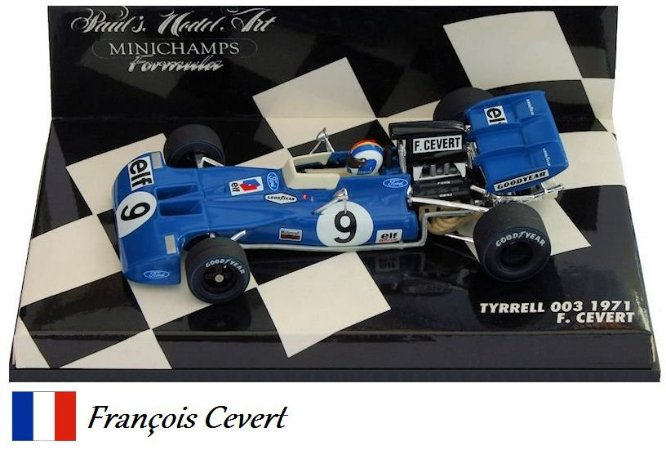 Minichamps - Tyrrell 003 Ford F1 1971 - 1/43