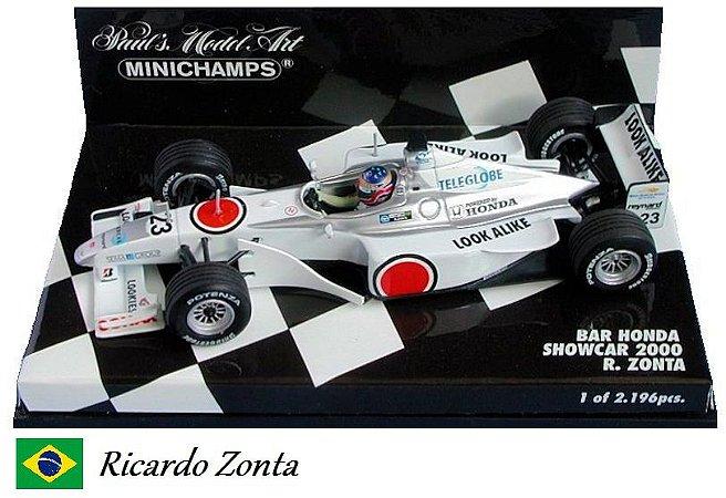 Minichamps - British American Racing BAR 002 Honda F1 2000 (Showcar) - 1/43