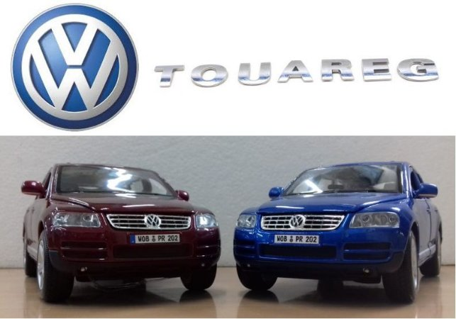 Burago - Volkswagen Touareg - 1/24