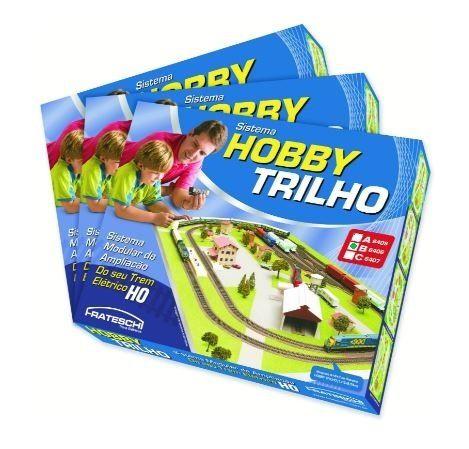 """Frateschi - Conjunto Hobby Trilho Caixa """"B"""" - HO"""