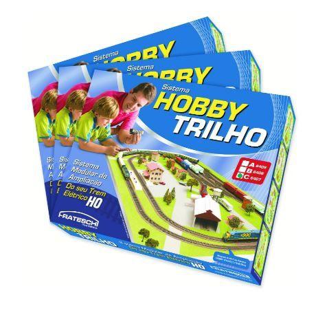 """Frateschi - Conjunto Hobby Trilho Caixa """"C"""" - HO"""