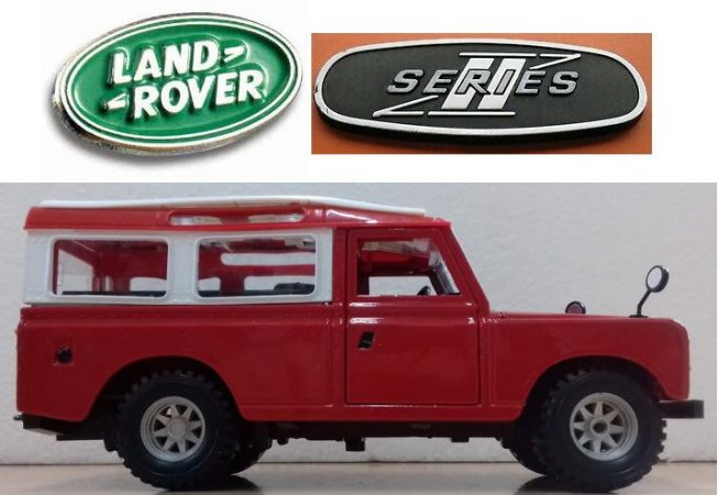 Burago - Land Rover Series II - 1/24