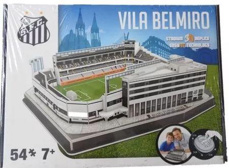 NanoStad/Del Prado - Vila Belmiro (Santos FC) - 54 pçs.