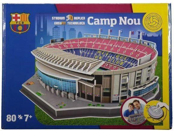 NanoStad/Del Prado - Camp Nou (FC Barcelona) - 80 pçs.