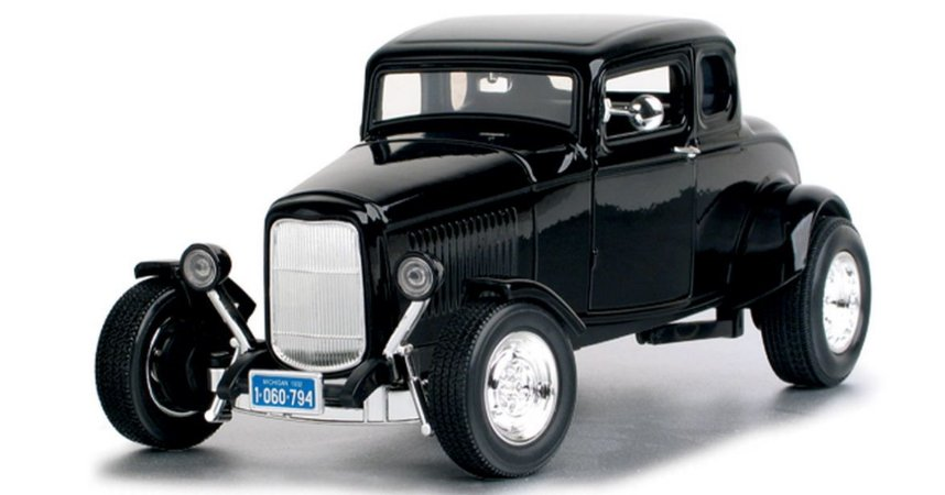 Motor Max - Ford Five-Window Coupe 1932 - 1/18