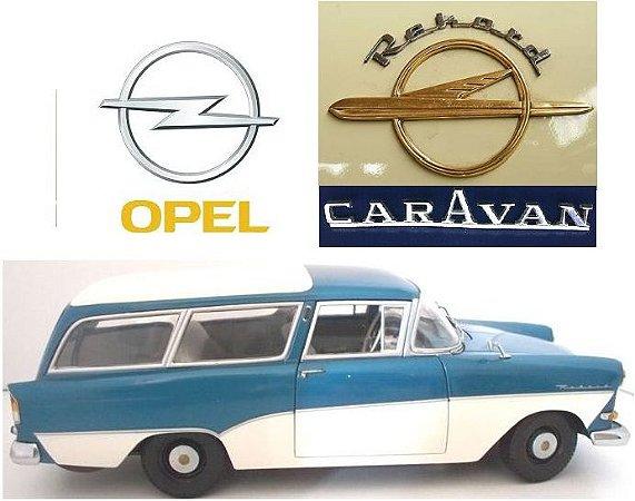 Minichamps - Opel Rekord P1 Caravan 1958 - 1/18