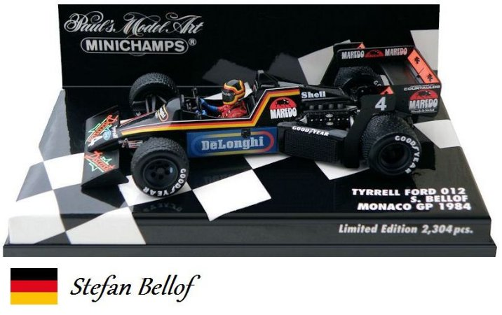 Minichamps - Tyrrell 012 Ford F1 1984 - 1/43