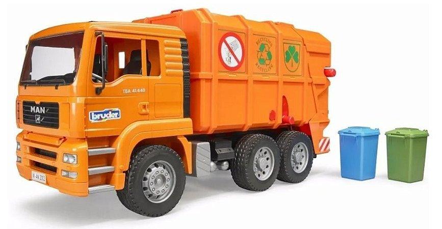 Bruder - Caminhão de Lixo Reciclável MAN TGA - 1/16