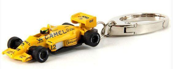 Califórnia Toys - Chaveiro Lotus 99T F1 1987 - Comemorativo Ayrton Senna