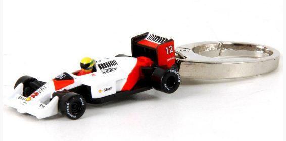 Califórnia Toys - Chaveiro McLaren MP 4/4 Honda F1 1988 - Comemorativo Ayrton Senna