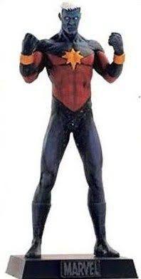 Eaglemoss - Capitão Marvel (Captain Marvel) - Figura em Metal