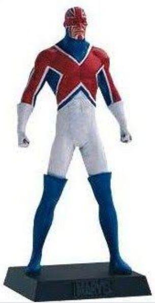 Eaglemoss - Capitão Britânia (Captain Britain) - Figura em Metal