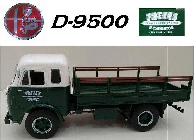 Ixo - Caminhão FNM Brasinca D-9500 - Fretes e Carretos - 1/43