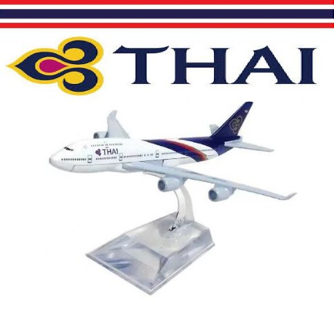 PPM Models - Boeing 747 - Thai