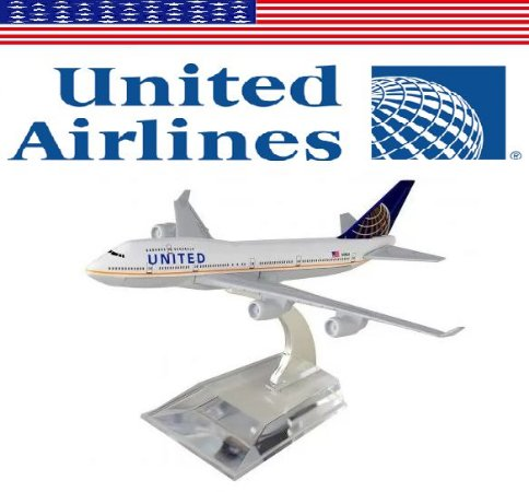 PPM Models - Boeing 747 - United Airlines