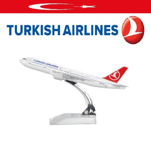 PPM Models - Boeing 747 - Turkish Airlines