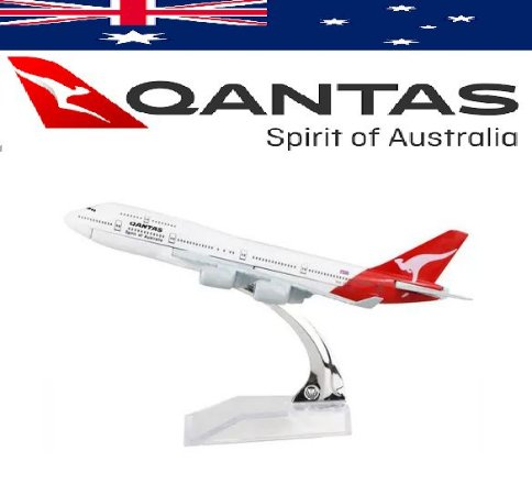 PPM Models - Boeing 747 - Qantas
