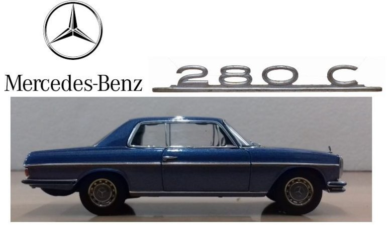Auto Art - Mercedes-Benz /8 280C Coupe - 1/43