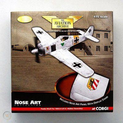 CORGI - Focke-Wulf Fw 190A-4 (Lt. Waltr Nowotny) - 1/72