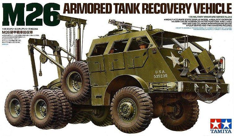TAMIYA - M26 ARMORED TANK RECOVERY VEHICLE - 1/35