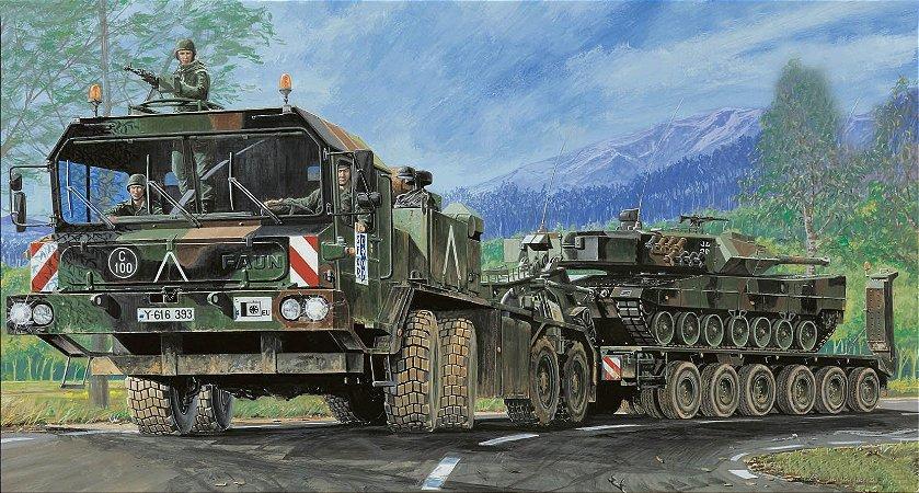 TRUMPETER - FAUN SLT-56 TANK TRANSPORTER - 1/35