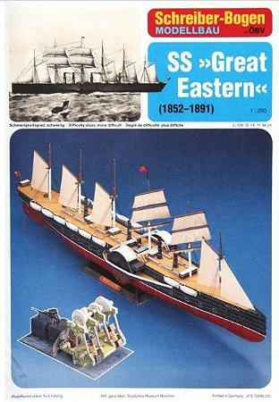 Schreiber-Bogen - SS Great Eastern - 1/200