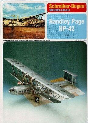 Schreiber-Bogen - Handley Page HP-42 - 1/50