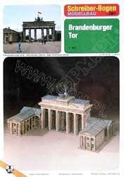 Schreiber-Bogen - Brandenburger Tor - 1/160