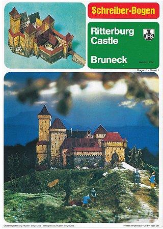Schreiber-Bogen - Riiterburg Bruneck - 1/90