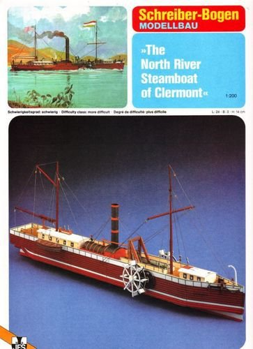 Schreiber-Bogen - The North River Steamboat of Clermont - 1/200