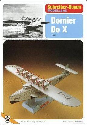 Schreiber-Bogen - Dornier Do X - 1/100