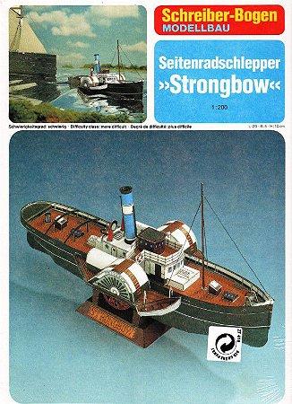 Schreiber-Bogen - Seitenradschlepper Strongbow - 1/200