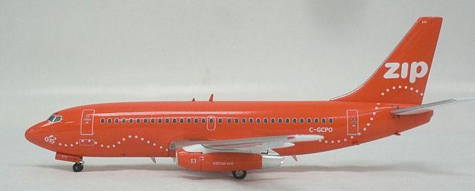 """Aero Classics - Boeing 737-200 """"Zip Orange"""" - 1/400"""
