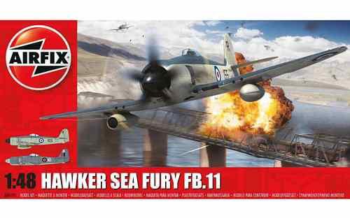 AIRFIX - HAWKER SEA FURY FB.11 - 1/48