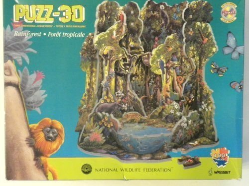 Wrebbit - Floresta Tropical - Puzzle 3D