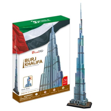 CubicFun - Burj Khalifa - Puzzle 3D