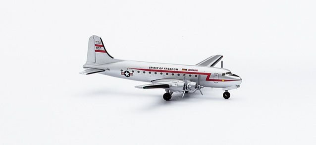 HERPA - DOUGLAS DC-4 SPIRIT OF FREEDOM - 1/500